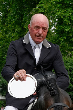 Welfenhofpreis foto of winner John Whitaker 2014.jpg