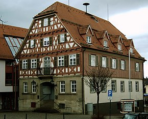 Town hall of Welzheim