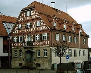 Welzheim - Town hall of Welzheim