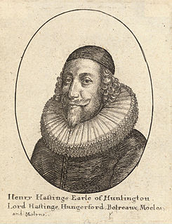 Henry Hastings, 5th Earl of Huntingdon English noble