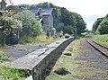 Wensley's old railway station buildings and platform, Wensleydale Railway, North Yorkshire, England.jpg