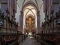 Wertheim - Kloster Bronnbach - Klosterkirche - Gestühl mittig.jpg