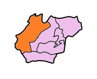 West Khasi Hills district - Image: West Khasi Hills Subdivisions Mawshynrut