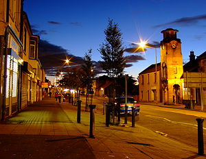 Armadale, West Lothian - West Main Street, looking westwards.