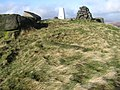 West Nab trig point S1756 - geograph.org.uk - 1562803.jpg