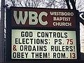 Westboro Baptist Church 01 07 21 Monster Sign 3.jpg