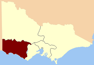 Western Province (Victoria) - Western Province, 1856