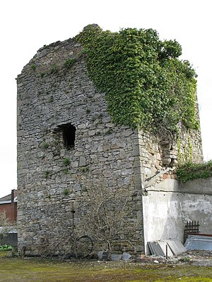 Clonmel - One of the remaining towers of Clonmel's defensive wall