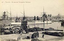 Wharf of the Messageries Maritimes at Marseille.jpg
