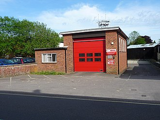 Fire station - Image: Whitchurch Fire Station geograph.org.uk 1425103