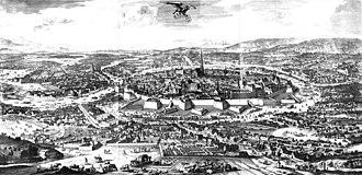 Vienna - 1683 Allen (printed 1686)