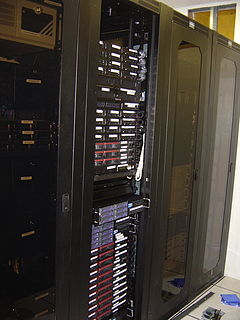 Server farm Collection of computer servers