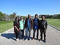 Wikipedian from Bangladesh at Robben Island.jpg