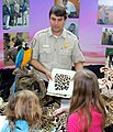 Wildlife Inspector explaining furs (5654676447).jpg