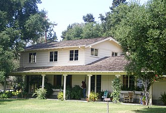 Will Rogers State Historic Park - Image: Will Rogers House, Pacific Palisades