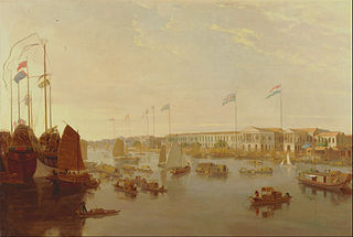 The European Factories, Canton