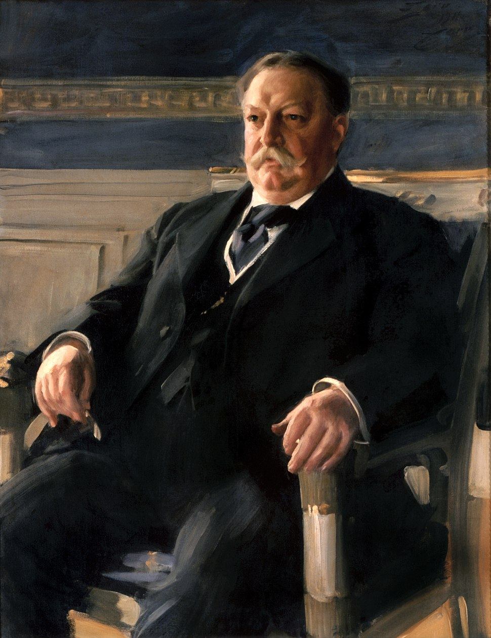 William Howard Taft by Anders Zorn, 1911