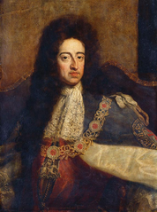 William III (1650-1702) in Garter Robes