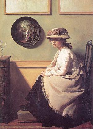 William Orpen - The Mirror (1900) (Tate)