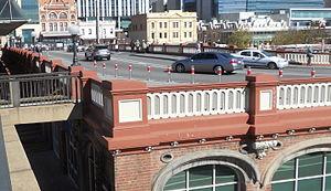 William Street, Perth - William Street on the Horseshoe Bridge