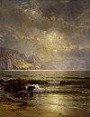 Уильям Трост Ричардс - Морской пейзаж - 75.359 - Museum of Fine Arts.jpg