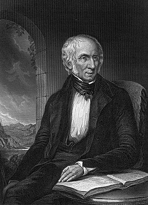 1839 in poetry - William Wordsworth, reproduced from Margaret Gillies' 1839 original