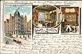 Willy Hoehl Ansichtskarte 675 Gruss aus Linden, Restaurant W. Brodrick, Limmerstrasse, Bildseite.jpg