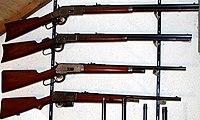 Winchester Rifles Model 73, 86, 92, 05.JPG
