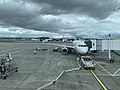 Window view from waiting area in Glasgow International Airport 02.jpg