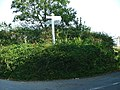 Wiverton Crossroads, Sherford Valley - geograph.org.uk - 66693.jpg