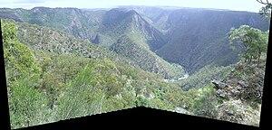 Wollomombi Falls - View from Edgar's Lookout, Wollomombi, NSW