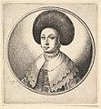 Woman with large circular fur hat and earrings MET DP823890.jpg