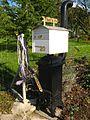 Wood Stove Mailbox.JPG