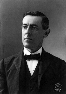 A portrait of Woodrow Wilson as president of Princeton