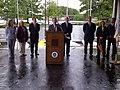 Worcester, Burns Bridge Ceremony, Lt. Governor Murray, June 25, 2012 (7440475470).jpg