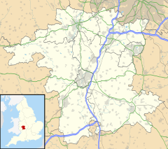 Charford is located in Worcestershire