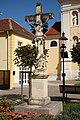 WrNeustadt Wiener Strasse Kruzifix.JPG