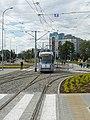 Wrocław - Linia tramwajowa na Kozanów i Stadion (7530120114).jpg