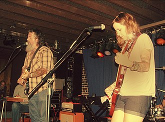 Chuck Cleaver - Image: Wussy performing in 2006