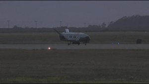 File:X-37B OTV-2 Landing (June 2012).ogv