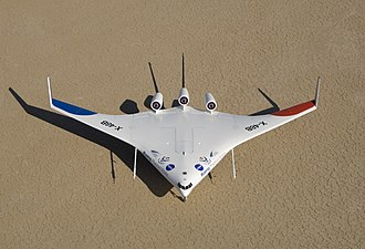 Fuel economy in aircraft - Boeing/NASA X-48B blended wing body demonstrator