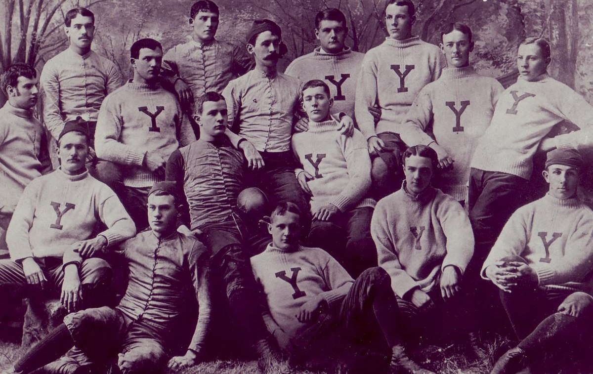 1885 Yale Bulldogs Football Team Wikipedia