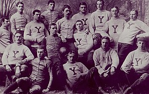 1885 Yale Bulldogs football team - Image: Yale Bulldogs football team (1885)