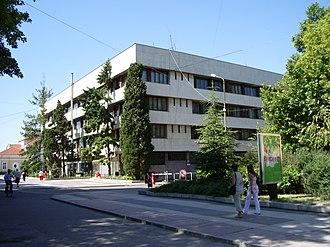 Yambol - Image: Yambol municipality building