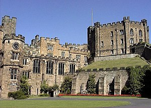 Durham Castle - view from within the Castle co...