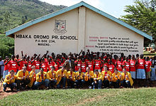 YellowJackets at Mbaka Oromo Primary School.jpg