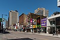 Yonge St, Toronto, as seen between Elm St and Gerrard St 20170417 1.jpg