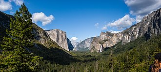 Mariposa County, California - Image: Yosemite Valley from Tunnel View