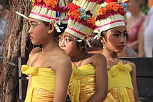 Young girls in Balinese festival; John Y. Can; September 2010.jpg