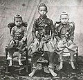 Younger Prince Chulalongkorn and 2 younger brother.jpg